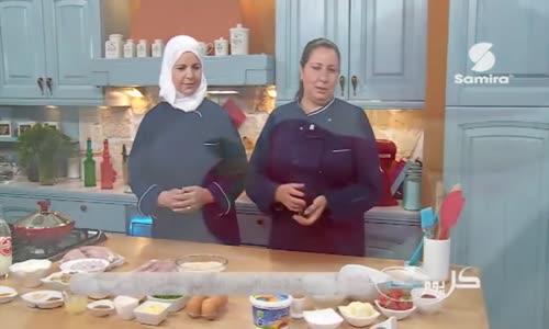 إسكالوب بانيه   طاجين الدجاج بالجبن و الفطر   تارتولات بالجبن الأبيض و الفراولة  