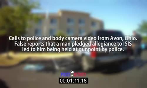 Video Shows Arab Man Mistaken As Member Of ISIS الشرطة الامريكية تقبض على عربي