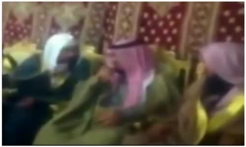 الأمير سعود بن مشعل بن عبدالعزيز مع اخوانه السلفيين
