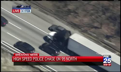 2016 ا روع مطاردة بوليسية لشرطة بوسطن police de boston