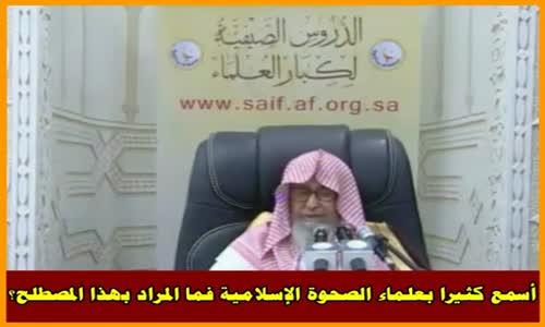 الصحوة الإسلامية - الشيخ صالح الفوزان 