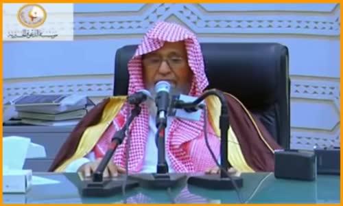 سؤال عمر بن الخطاب رضي الله عنه وباب الفتن - الشيخ صالح الفوزان 