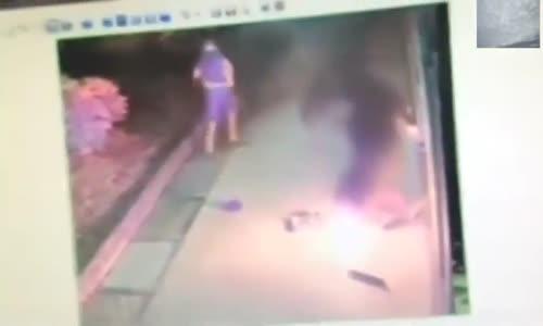 انفجار جهاز سحب آلي في وجه لص