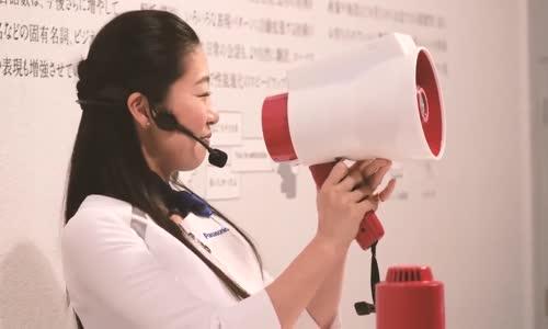 اليابان تم ابتكار #مكبر صوت يقوم بتغيير اللغة مباشرة لعدة #لغات بدلاً من الإستعانة بمترجم