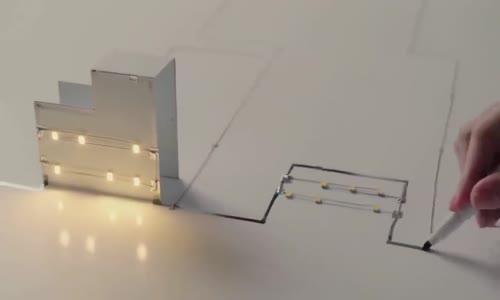 القلم الياباني المذهل الناقل للكهرباء اختراع مذهل