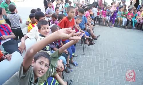 كلنا غزة (حفل ترفيهي للأطفال النازحين  2)  