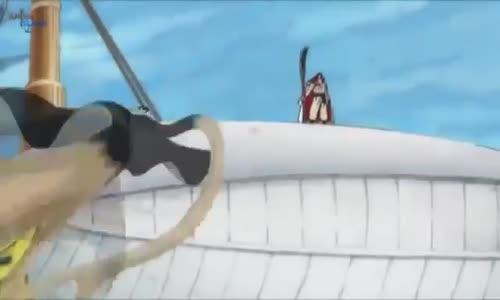 لوفي يوقف كروكودايل ويتحدى اللحية البيضاء
