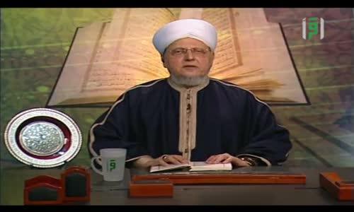 إشراقات قرآنية ج2  - كيف تكفرون بالله وكنتم أمواتا فاحياكم -  الشيخ العلامة محمد عبد الباعث