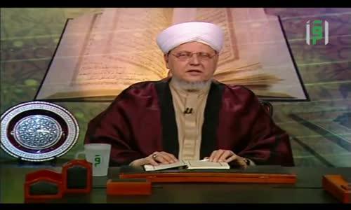 إشراقات قرآنية -  قضية الخلق من أسباب الهداية -  الشيخ العلامة محمد عبد الباعث