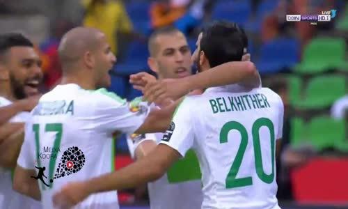 اهداف مباراة الجزائر وزيمبابوي 2-2 شاشة كاملة ( كاس امم افريقيا 2017 ) HD