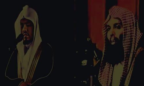 مؤثر جدا - الشيخ خالد الراشد والقارئ ياسر الدوسري - فذكر بالقرآن