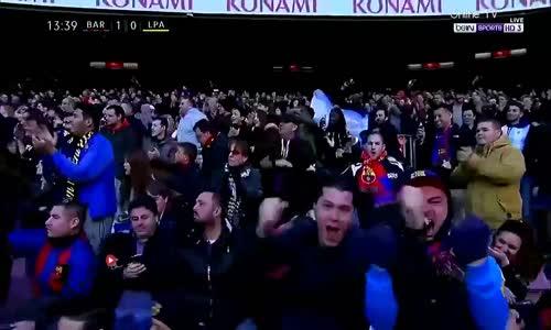 اهداف مباراة برشلونة ولاس بالماس 5-0 شاشة كاملة ( الدوري الاسباني ) HD