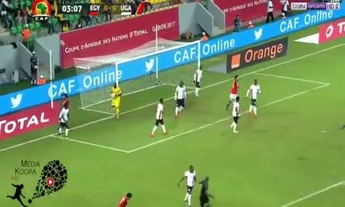 ملخص مباراة مصر واوغندا 1-0 كامل ( كاس امم افريقيا 2017 ) HD