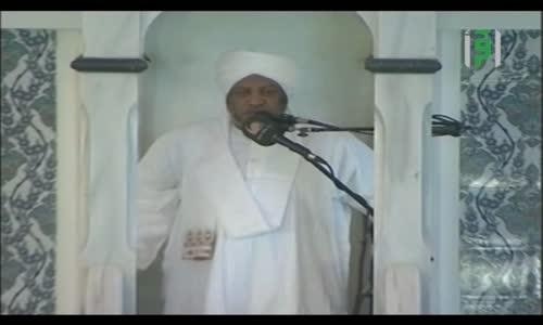 رسائل منبرية -  مفهوم التضامن في الإسلام -  الدكتور عصام البشير