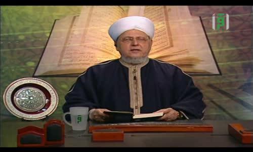 إشراقات قرآنية  - الفرق بين عصمة الأنبياء وطاعة الملائكة -  الشيخ العلامة محمد عبد الباعث