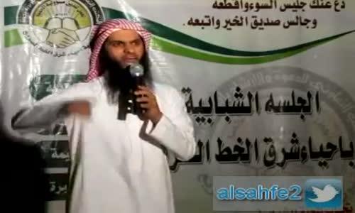 انتبه لا تدخل مغسلة الأموات وانت !! الداعية نايف الصحفي يتكلم بحرقه