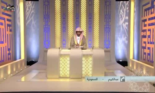 سائل يشكو كثرة الذنوب - مؤثر ــ الشيخ صالح المغامسي