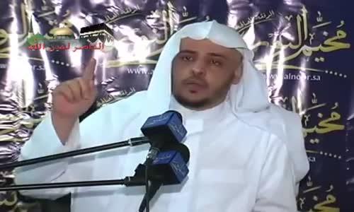 بكاء الشيخ خالد المصلح ــ لن يبقى الا العمل - مؤثر