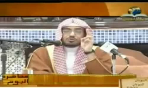 اعظم وأشد ما يحمله الأنسان على ظهره الشيخ صالح المغامسي