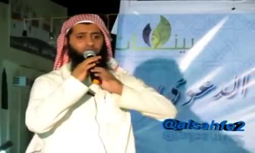 والله نشوف أشياء تبكي القلب ! - الداعية نايف الصحفي