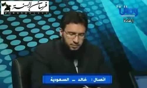 ليت كل الشيعه تفكيرهم مثل هذا الشيعي الشجاع