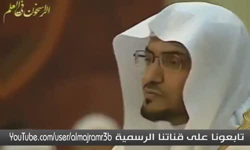 اخر من راى محمد على الصلاة والسلام - فيديو موثر للشيخ صالح المغامسي