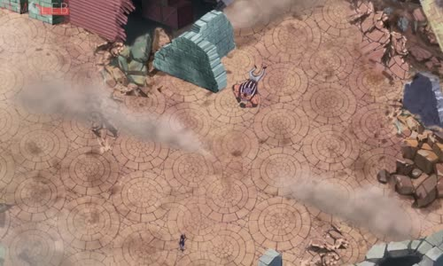 بارجيس يستفز سابو محاولا قتله 