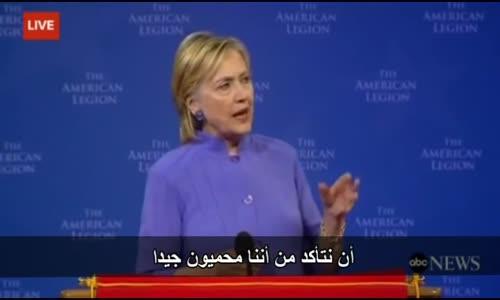 هيلاري كلينتون تهدد بشن حرب على روسيا و الصين