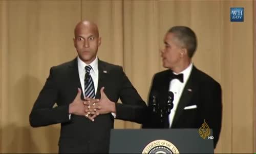 أوباما يتساءل_ لما زحف الشيب على رأسي بينما تزداد ميشيل شبابا كل يوم؟