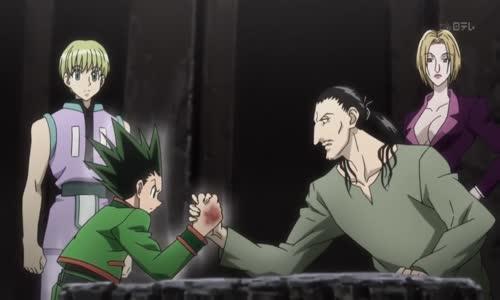 فيتان المخيف يحاول تعذيب غون Feitan vs Gon