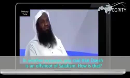 الوهّابي عادل الكلباني الامام السابق للمسجد الحرام في مكة يصف داعش الوهّابية بأنها _ _ نبتة سلفية _