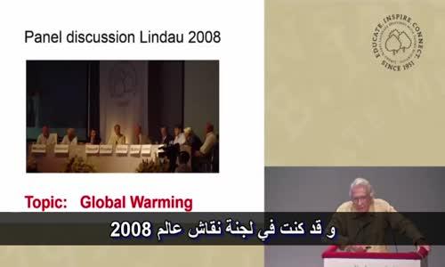 إيفار جيفيير الحاصل على جائزة نوبل  يكشف كذبة الإحتباس الحراري