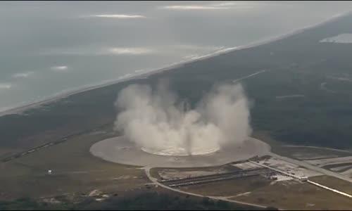 مذهل علمية هبوط ناجحة دقيقة وعودة للمركبة الفضائية  SpaceX Falcon 9