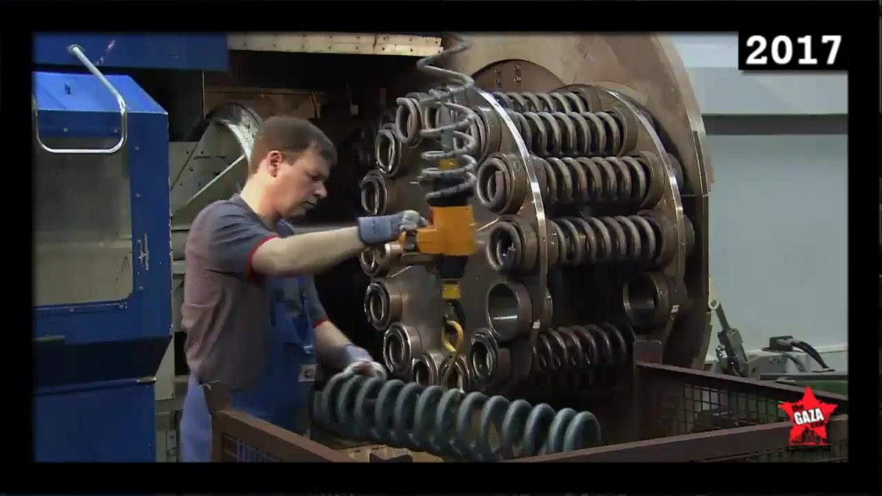 مصانع عملاقة النابض يتحمل ضغط رهيب