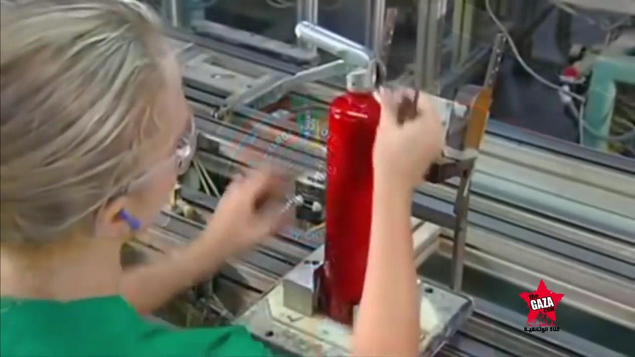 كيف صنعت مطفئة الحرائق  Fire Extinguishers