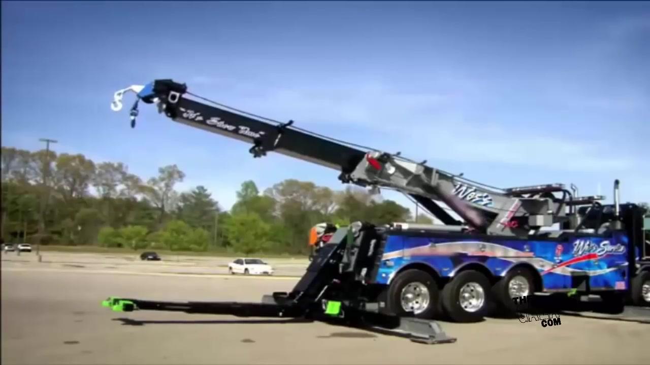 كيف صنع الرافعة اوالكرين Large Tow Trucks