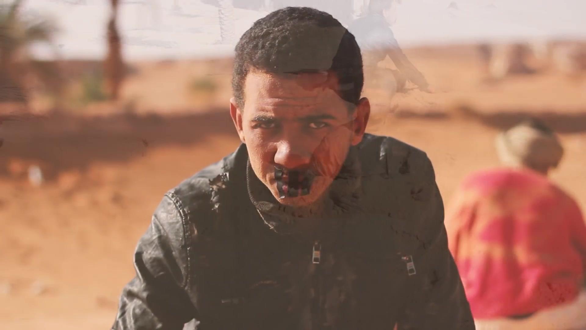 بلسان جميع الشباب الجزائري رسالة قوية و مؤثرة  ولد الصحراء ماراضيش