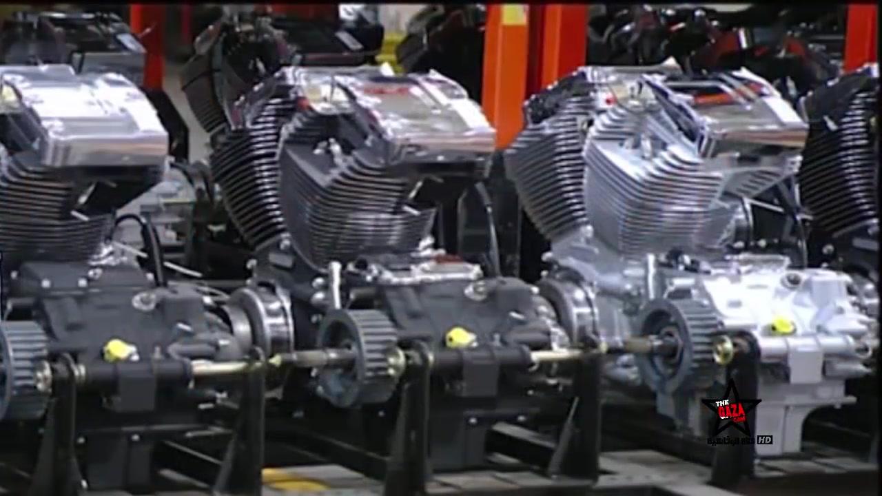 كيف صنع محرك الدراجة نارية   حصري