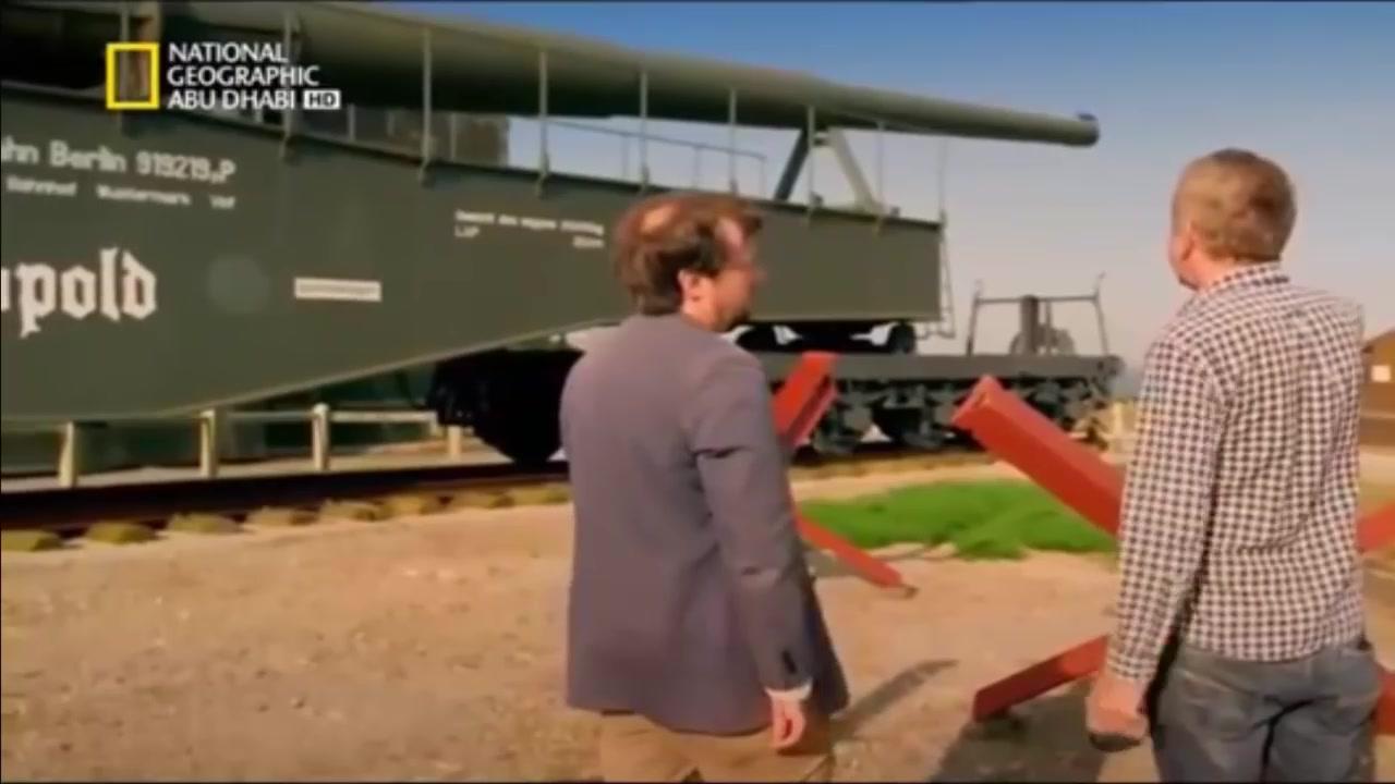 وثائقي من العيار الثقيل مدفع هتلر العملاق يعرض للمرة حصري