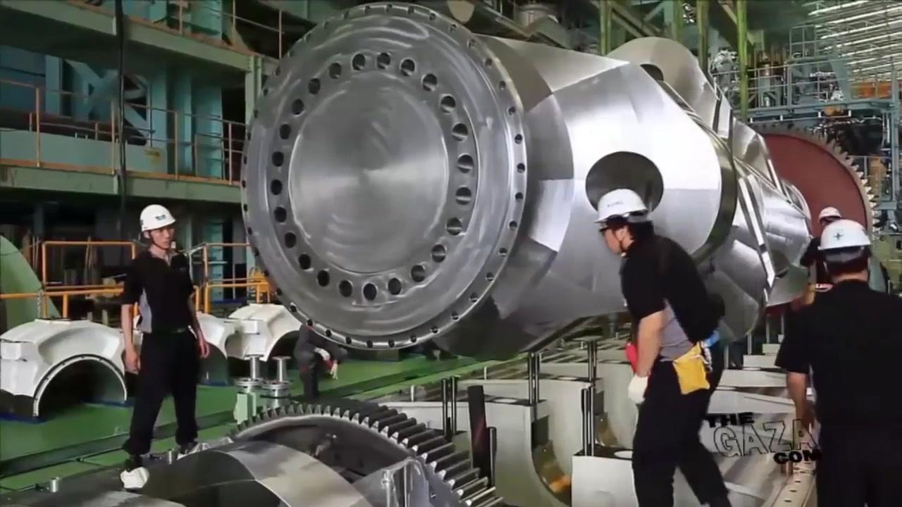 وثائقي تجميع محركات السفن العملاقة