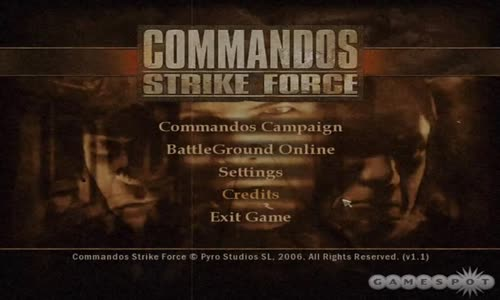 Commandos strike force soundtrack (main menu)