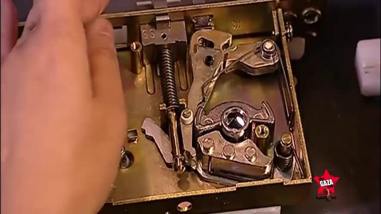 كيف صنع الكالون الكهربائي يعمل بالكارت Schlage