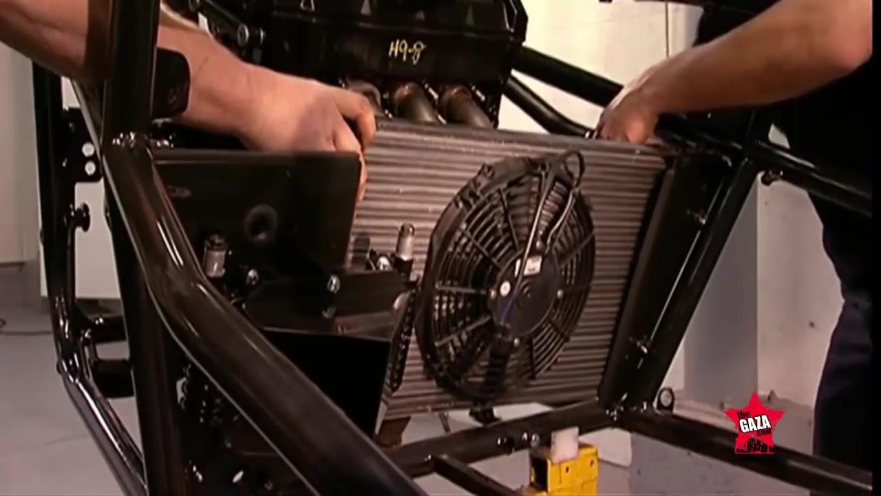 كيف صنع سيارة 3 عجلات