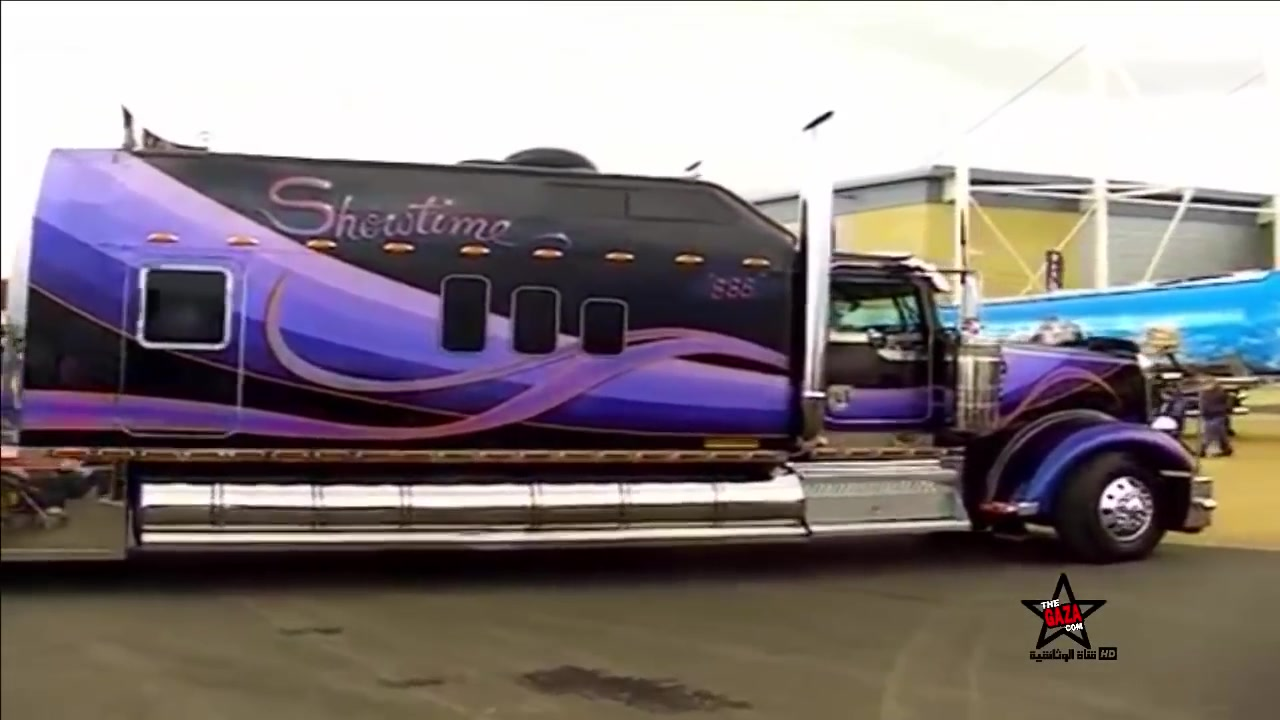 صنع في امريكا اكبر و أغلى غرفة نوم شاحنة في العالم