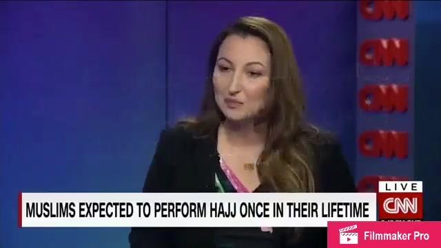 مراسلة قناة CNN الأمريكية  تصف الحج بشكل مؤثر وهي متعجبة من وقفة عرفات (مترجم)
