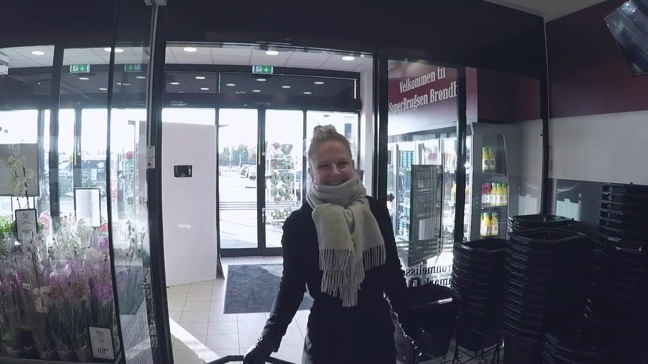 باب في  الدنمارك الشقيقة لا يفتح الا حين تبتسم