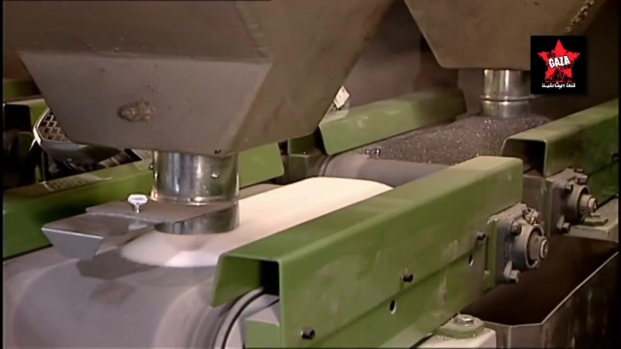 كيف صنع  عجلات التجليخ الكبيرة