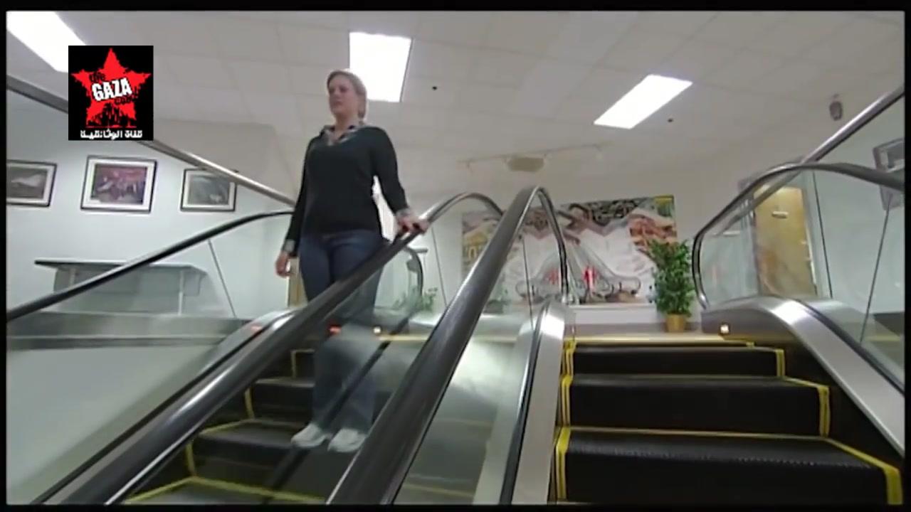 صنع في أمريكا السلم المتحرك escalator