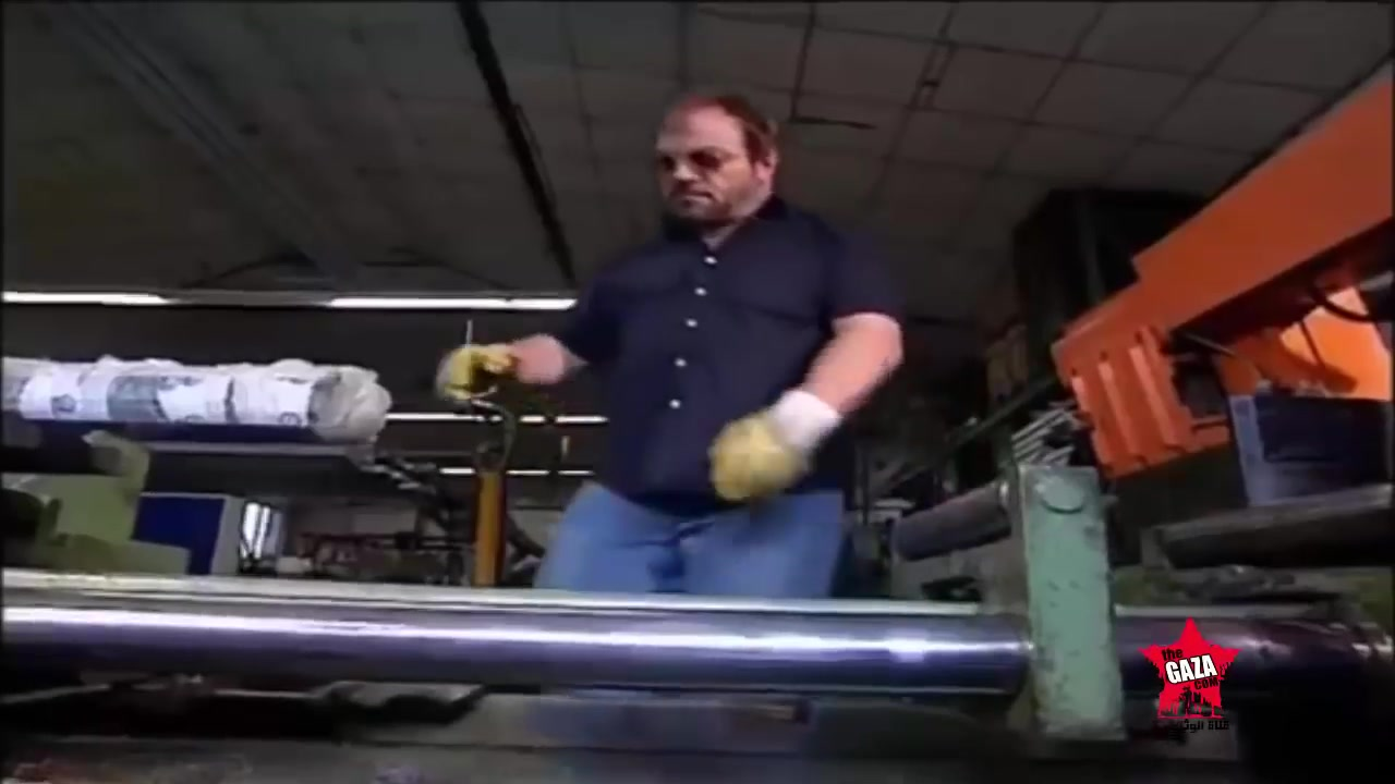 كيف صنع القفل من الفولاذ  Lock