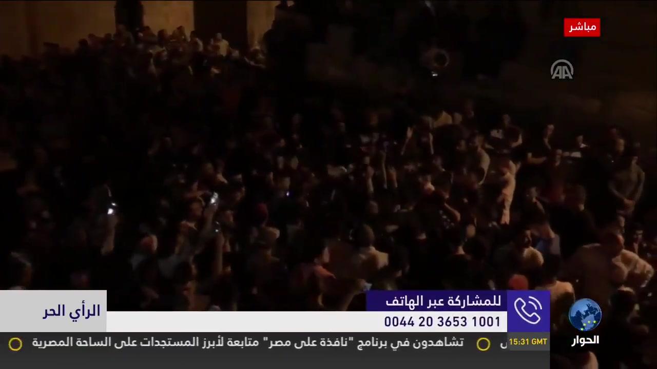 متصل سعودي يصدم مذيع الحوار لن ننصر الأقصى! وصالح الأزرق ينفعل بشدة ويرد ؟
